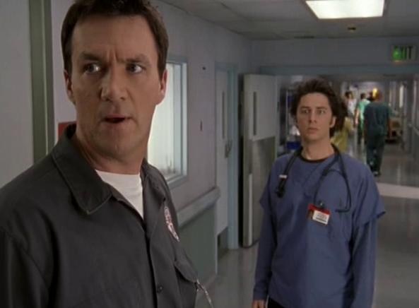 Scrubs JD & Janitor