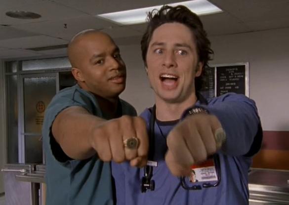 Scrubs JD & Turk