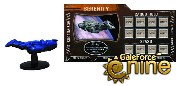Firefly board game ship card & piece