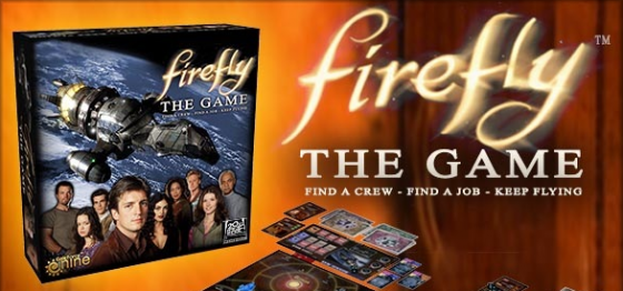 Firefly board game title