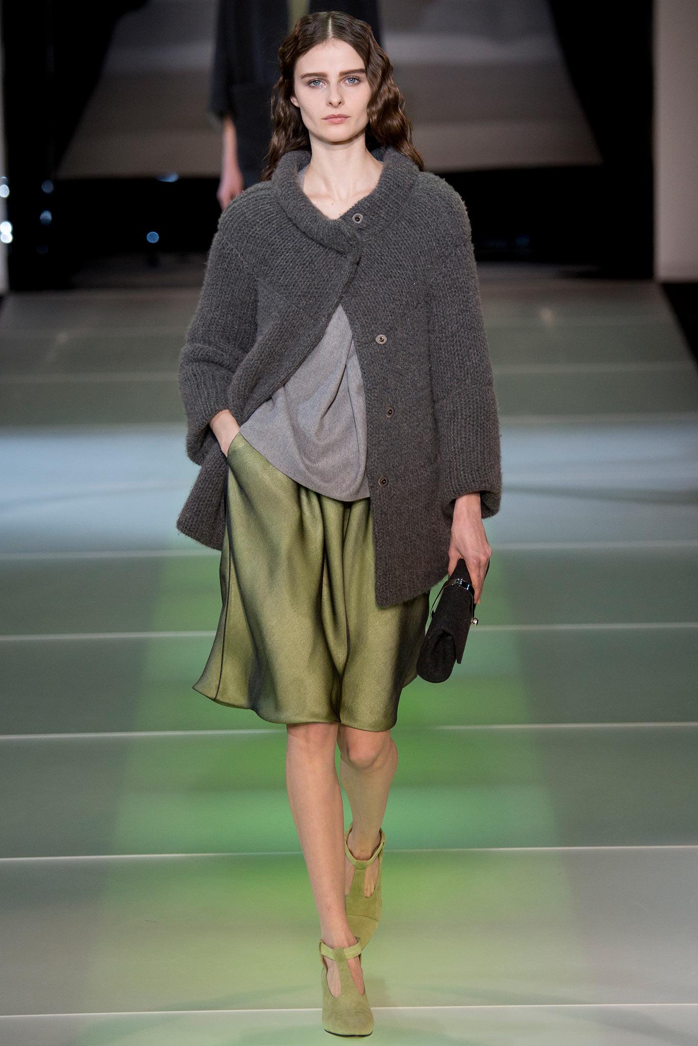 aa5cf150661 Milan Fashion Week Fall 2014 RTW  Giorgio Armani – Ani   Izzy