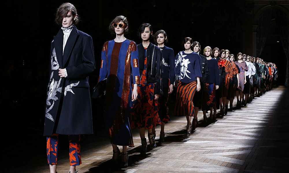 Dries Van Noten Paris fashion week