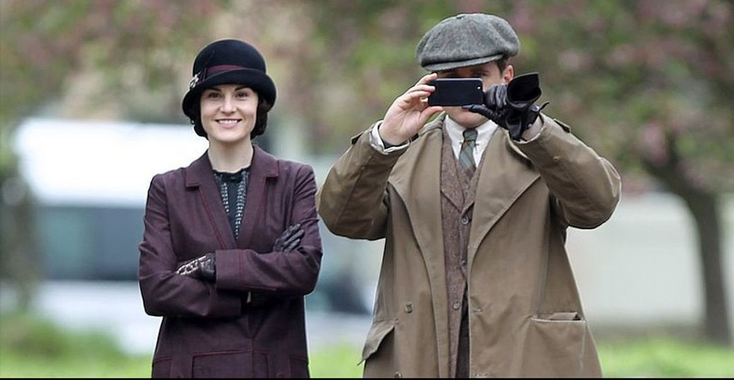 Michelle-Dockery-Allen-Leech-filmed-scenes-upcoming