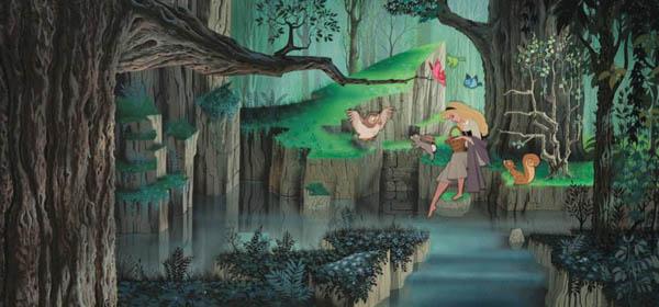 Disney's Sleeping Beauty backdrop1