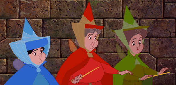 Disney's Sleeping Beauty fairies2