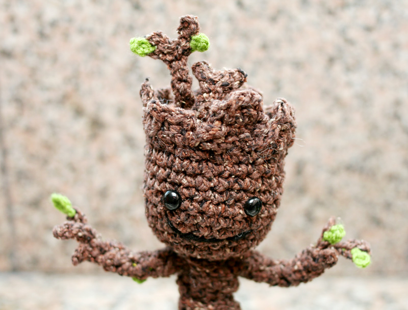 Crochet Your Own Baby Groot ? Anibundel