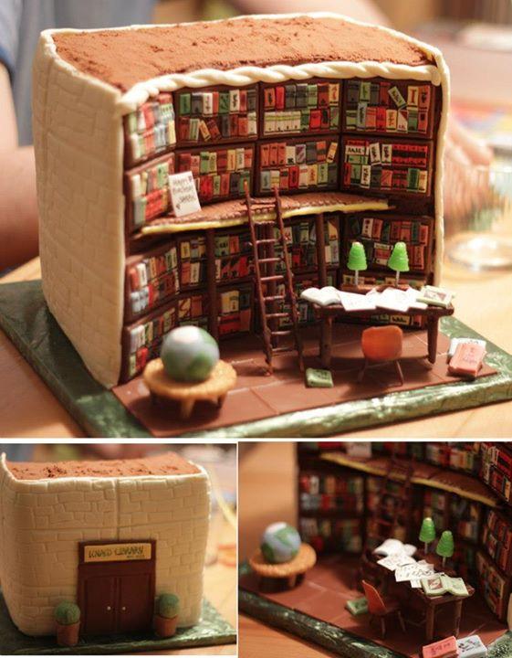 librarycake