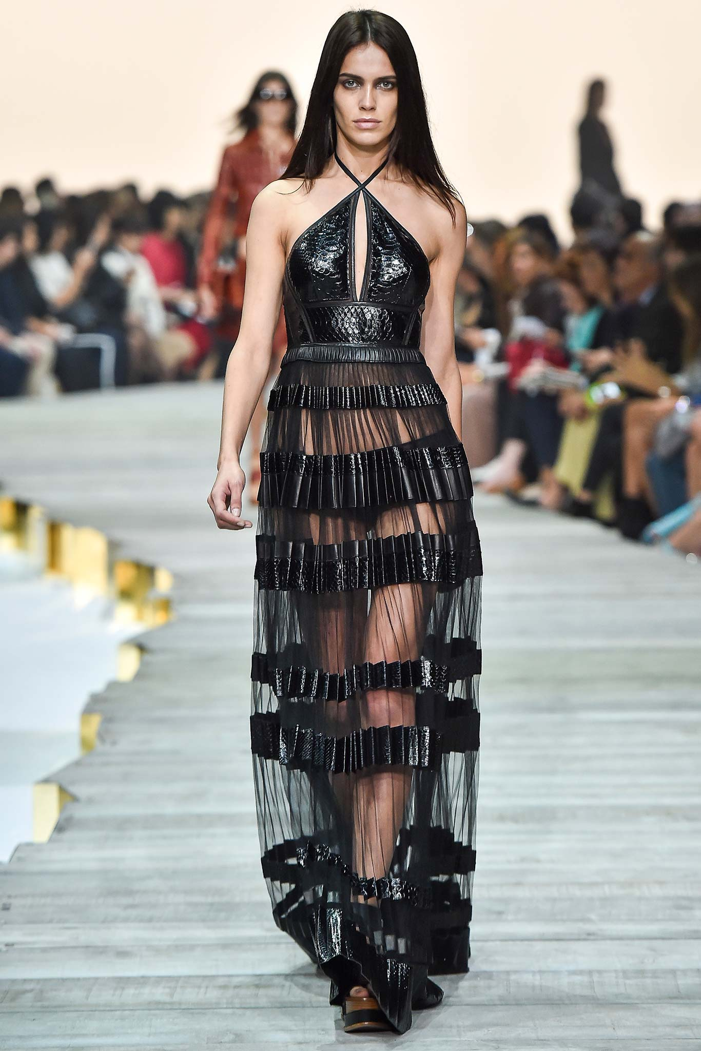 Roberto Cavalli Spring 2014 Dresses it had not been Cavalli