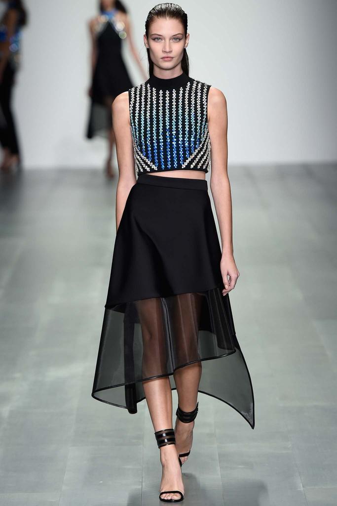 London Fashion Week Spring 2015 Rtw David Koma Ani Izzy