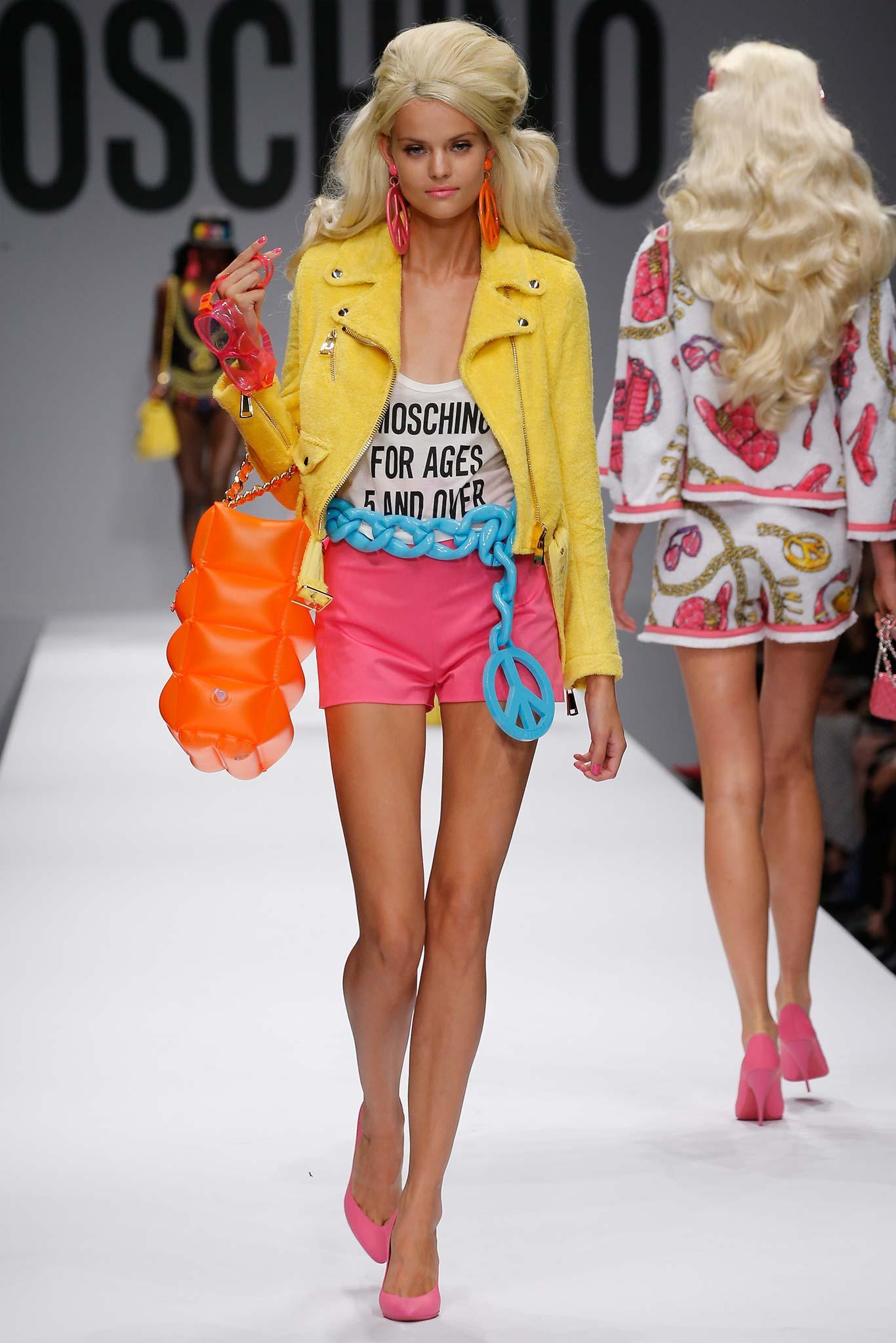 Milan Fashion Week Spring 2015 Rtw Moschino Ani Izzy