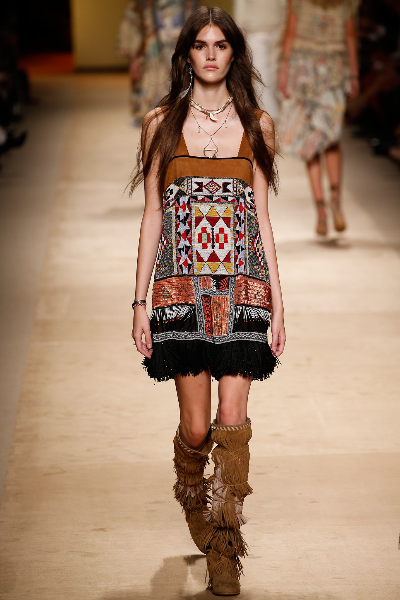 Milan Fashion Week Spring 2015 Rtw Etro Ani Izzy