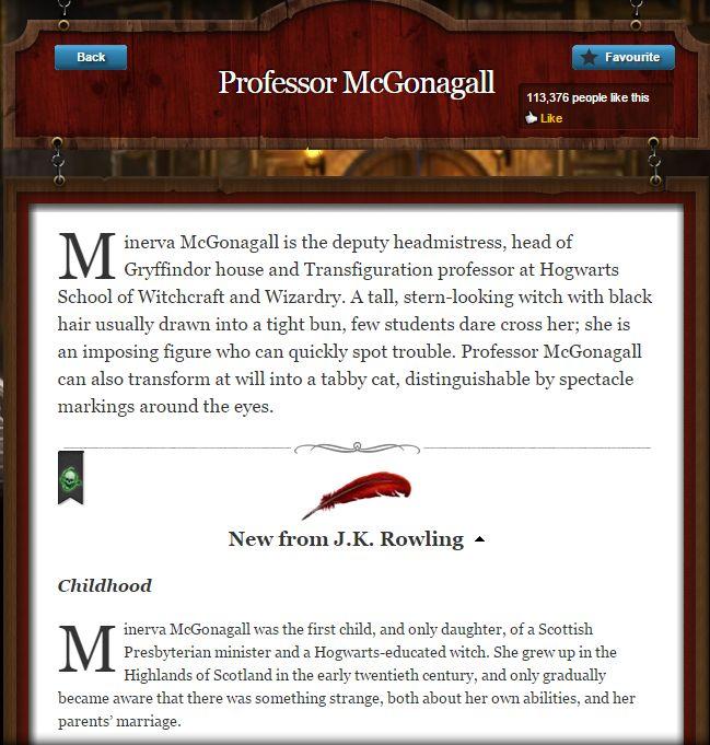 jk rowling mcgonagall1 mcgonagall2 mcgonagall3 mcgonagall4 - Joanne K Rowling Lebenslauf