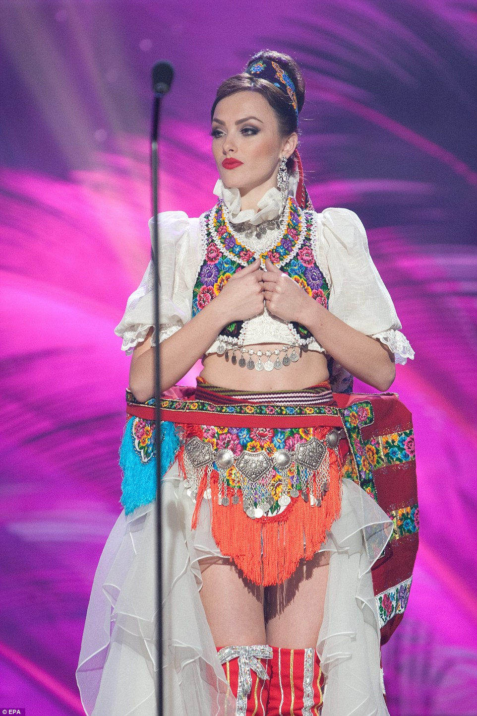 Best and weirdest of the miss universe pageant national costume 20kosovo publicscrutiny Choice Image