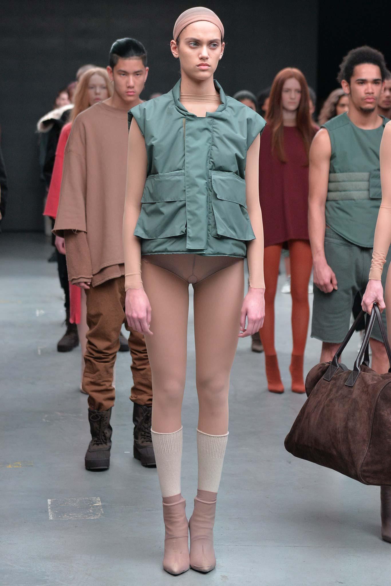 Settimana della moda di new york autunno 2015 riw: kanye west, x adidas originali