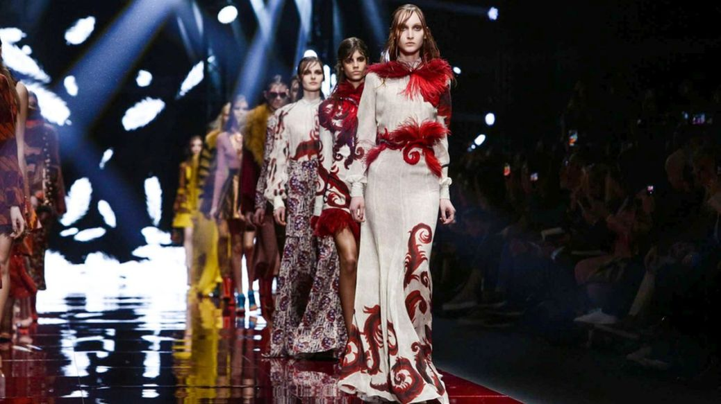 Just Cavalli Ready to wear fall winter 2015 in Milan