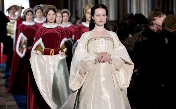 Programme Name: Wolf Hall - TX: n/a - Episode: Ep3 (No. 3) - Picture Shows:  Anne Boleyn (CLAIRE FOY) - (C) Company Productions Ltd - Photographer: Giles Keyte