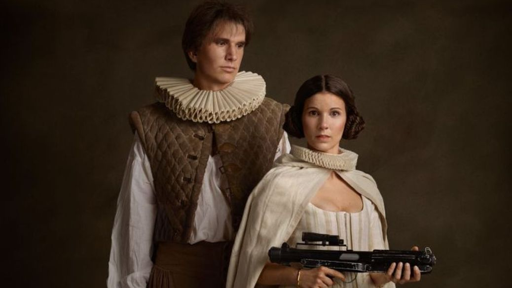 Han and Leia Banner