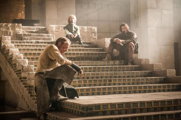 Tyrion Jorah and Daario