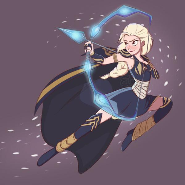 Elsa LOL