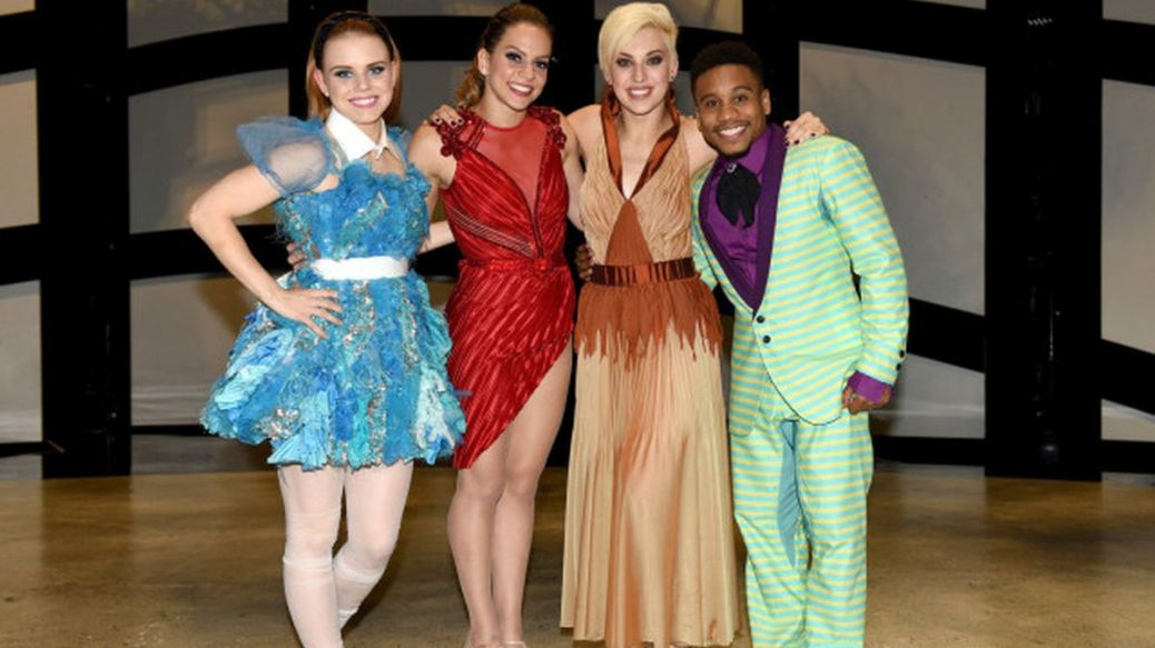 "SO YOU THINK YOU CAN DANCE: L-R: Top 4 contestants Jana ""JaJa"" Vankova, Gaby Diaz, Hailee Payne and Virgil Gadson on SO YOU THINK YOU CAN DANCE airing Monday, August 31 (8:00-10:00 PM ET live/PT tape-delayed) on FOX. ©2015 FOX Broadcasting Co. Cr: Michael Becker"