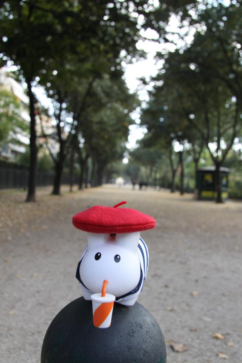 9 Parisian park