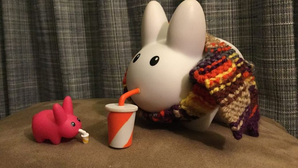 bunny and friend