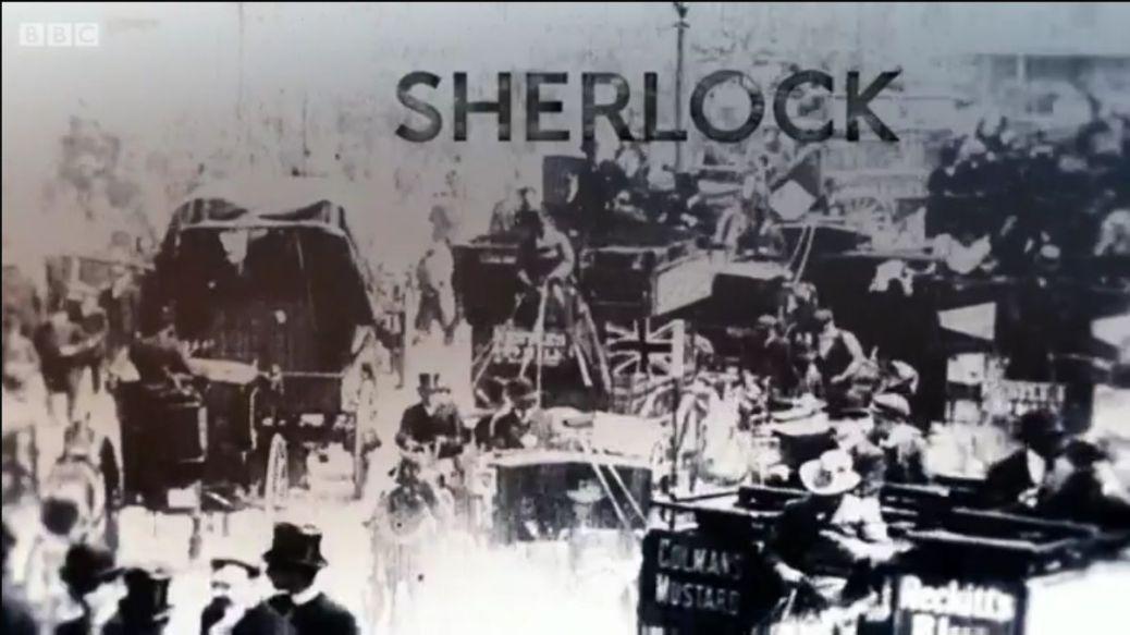sherlock opening titles 1895