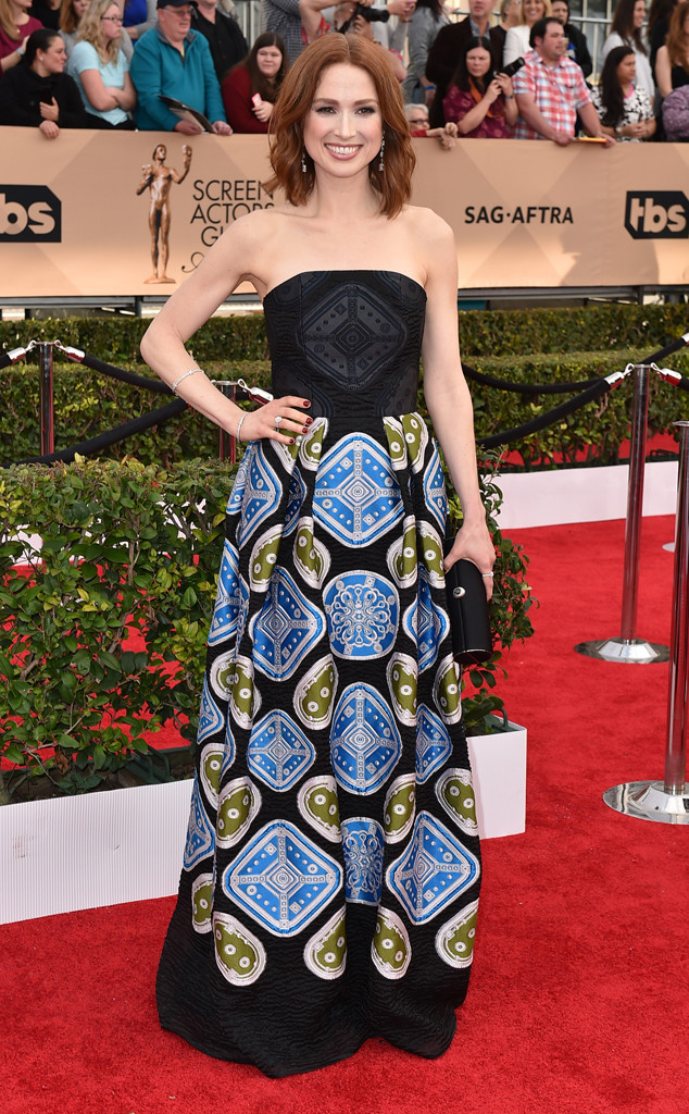 11 Ellie Kemper In Peter Pilotto