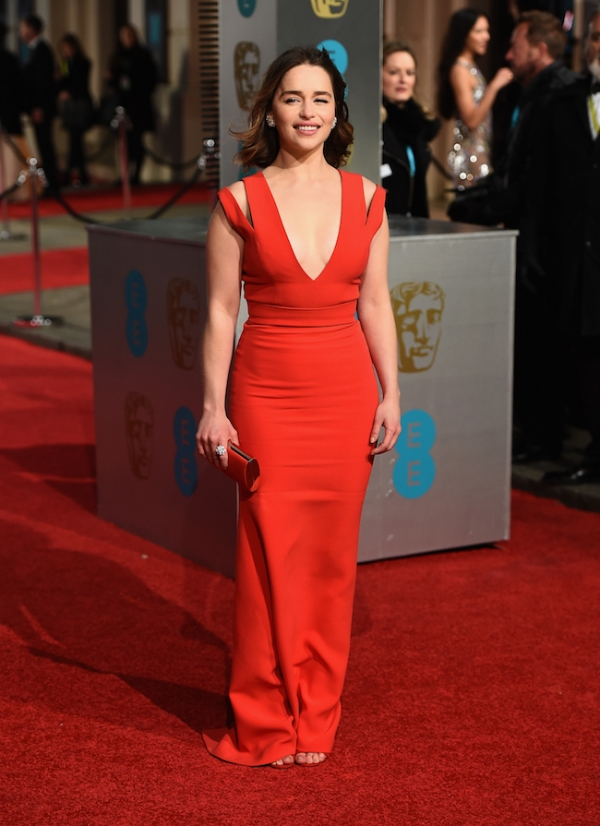 12 Emilia Clarke in Victoria Beckham