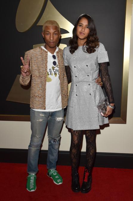 26 Pharrell Williams and Helen Lasichanh