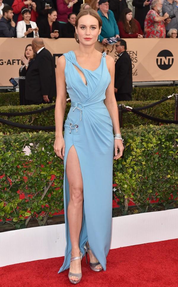 39 Brie Larson in Versace