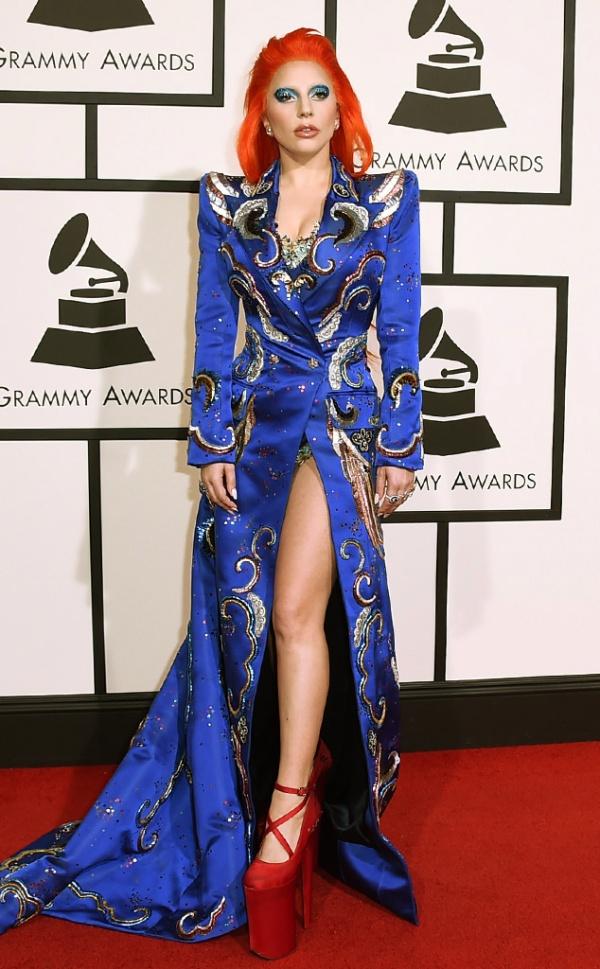 9 Lady Gaga custom Marc Jacobs