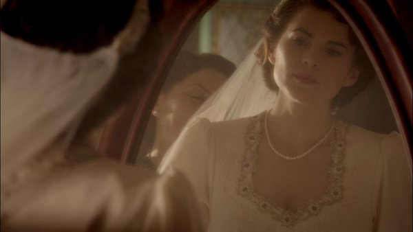 peggy wedding gown