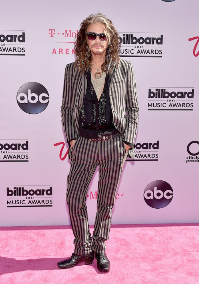 LAS VEGAS, NV - MAY 22: Singer Steven Tyler attends the 2016 Billboard Music Awards at T-Mobile Arena on May 22, 2016 in Las Vegas, Nevada. (Photo by David Becker/Getty Images)