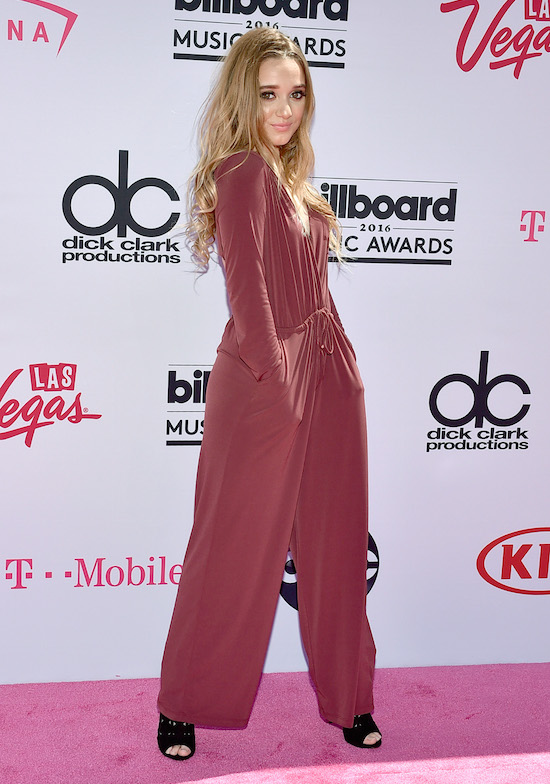 LAS VEGAS, NV - MAY 22: Recording artist Heather Russell attends the 2016 Billboard Music Awards at T-Mobile Arena on May 22, 2016 in Las Vegas, Nevada. (Photo by David Becker/Getty Images)