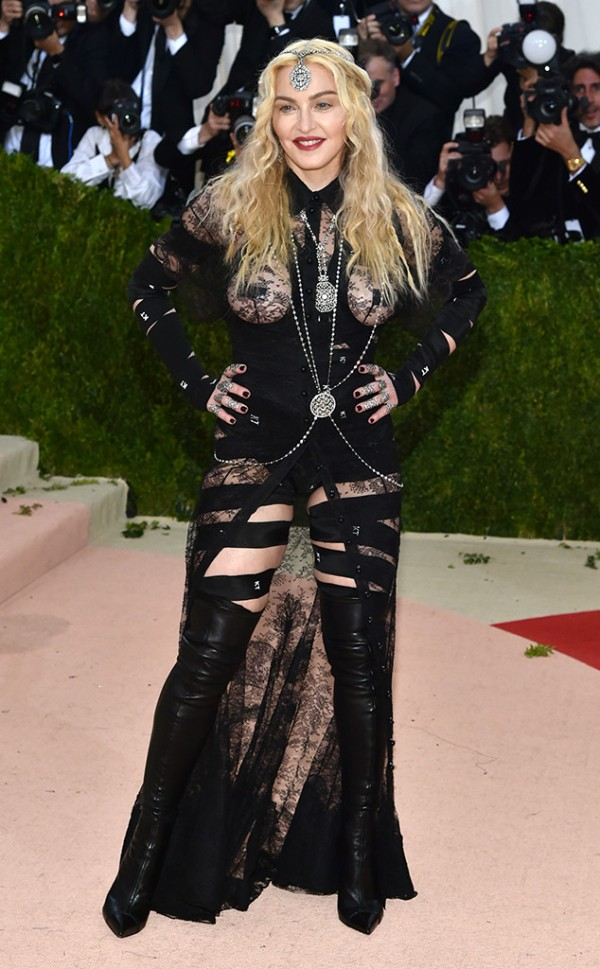 52 Madonna In Givenchy