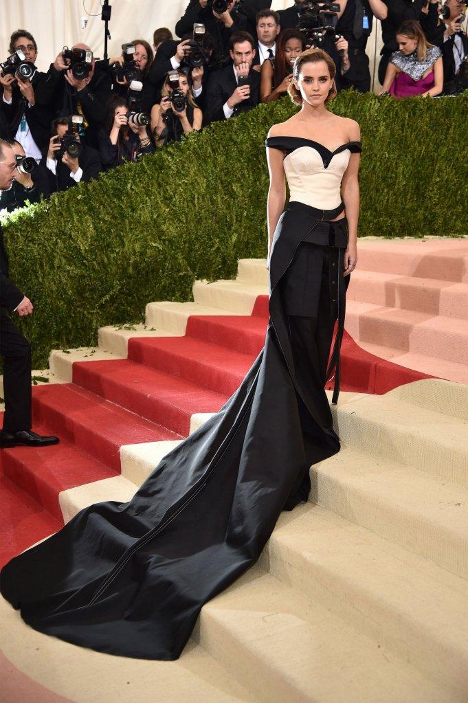 8 Emma Watson in Calvin Klein