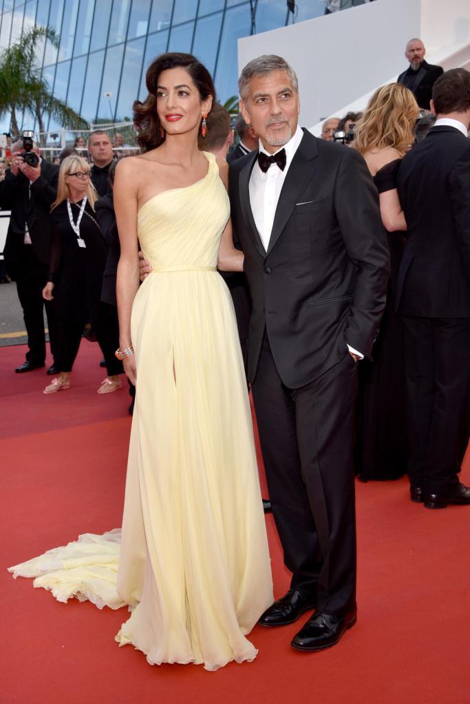 Amal Clooney in Versace
