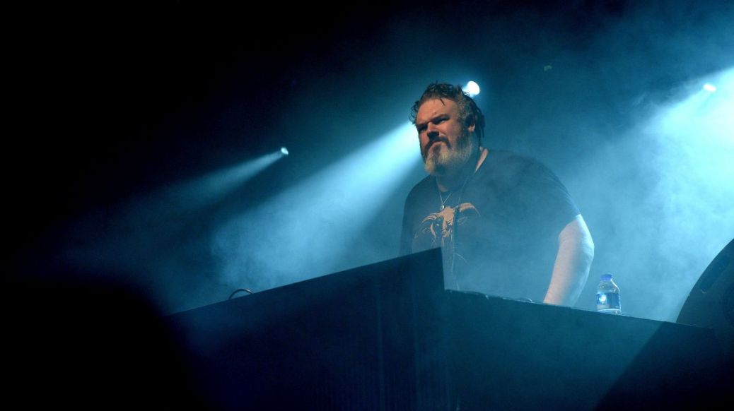 "ISTANBUL, TURKEY - DECEMBER  27:  Kristian Nairn known for his role 'Hodor' in the fantasy-drama series Game of Thrones performs during ""Rave of Thrones"" end of the year party hosted Istanbul Blue Night on December 27, 2014 in Istanbul, Turkey. (Photo by Sebnem Coskun/Anadolu Agency/Getty Images)"