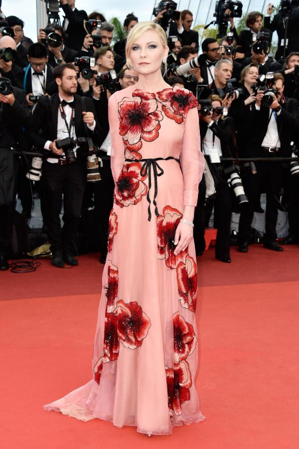 Kristen Dunst in Gucci