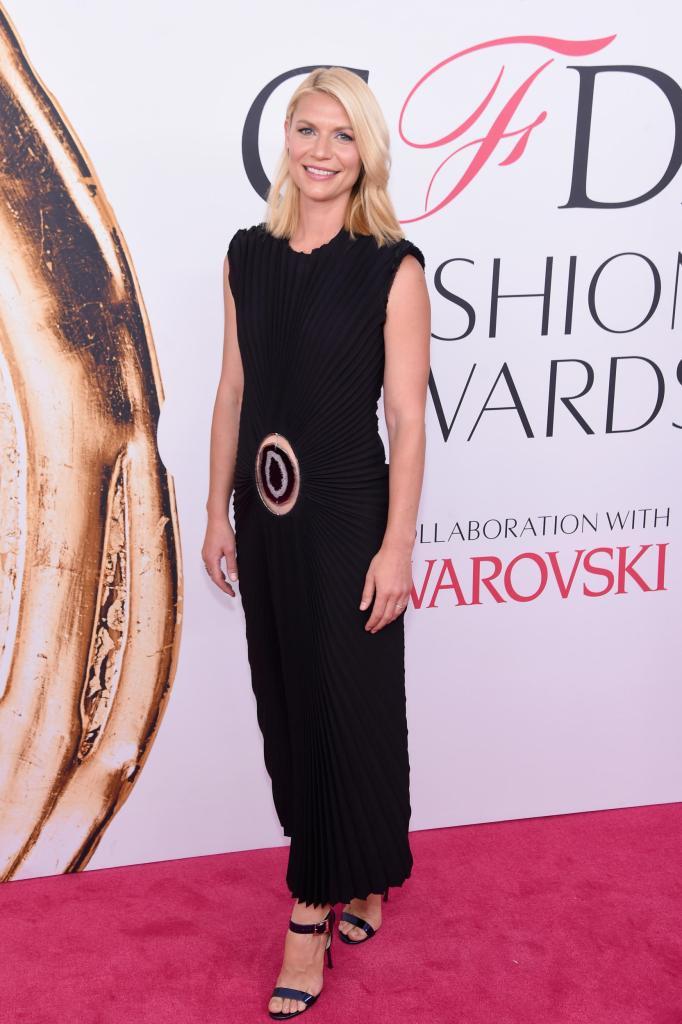 Claire Danes in Calvin Klein
