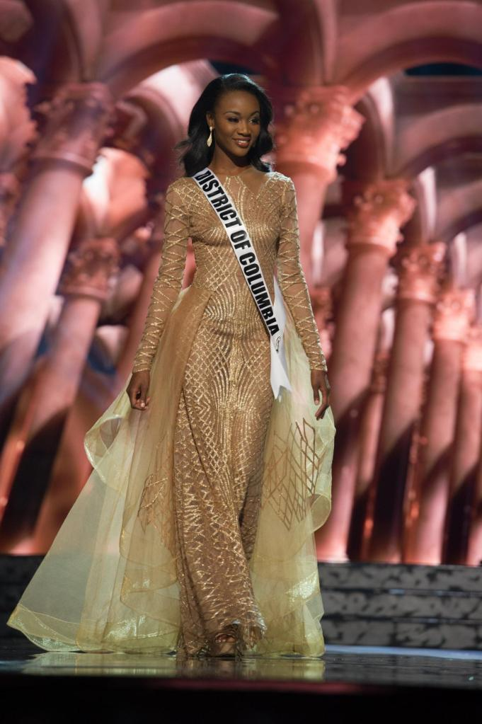 Miss DC, and winner of the competition