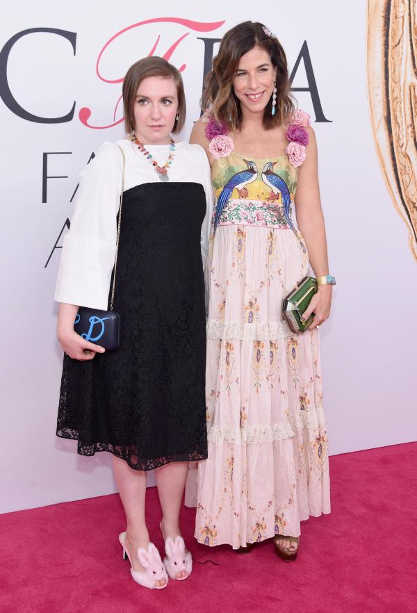 Lena Dunham and Irene Neuwirth in Creatures of the Wind