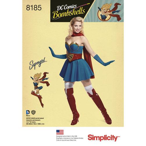 Bombshell-Supergirl-Pattern-Cover
