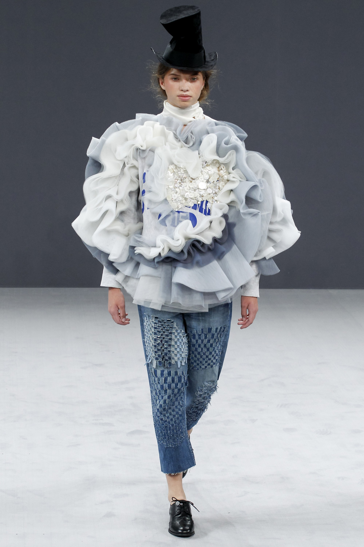 Ice mermaid blue wedding dress