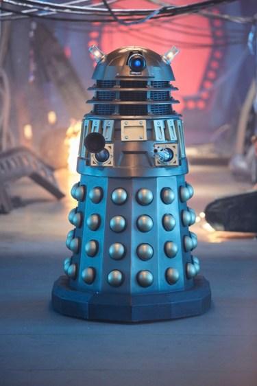Programme Name: Doctor Who S10 - TX: 15/04/2017 - Episode: n/a (No. 1) - Picture Shows: Dalek - (C) BBC - Photographer: Simon Ridgway