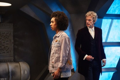 Programme Name: Doctor Who S10 - TX: 15/04/2017 - Episode: n/a (No. 1) - Picture Shows: Bill (PEARL MACKIE) - (C) BBC - Photographer: Simon Ridgway