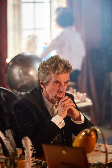 Programme Name: Doctor Who S10 - TX: 15/04/2017 - Episode: n/a (No. 1) - Picture Shows: Bill (PEARL MACKIE), Doctor Who (PETER CAPALDI) - (C) BBC - Photographer: Simon Ridgway