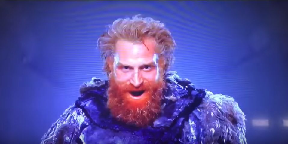 tormund costume close up