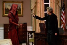 Doctor Who S10 - TX: 20/05/2017 - Episode: Extremis (No. 6) - Picture Shows: Monk, The Doctor (PETER CAPALDI) - (C) BBC/BBC Worldwide - Photographer: Simon Ridgway